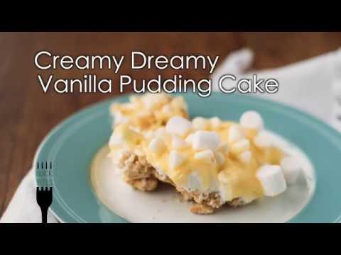 Creamy Dreamy Vanilla Pudding Cake