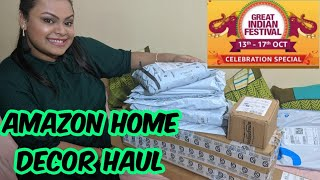 Amazon Great Indian Festival Sale/ Home decor haul/ Amazon haul/ Diwali shopping