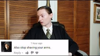 I React to Weird Random Comments