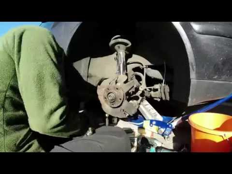 Mk4 Golf FRONT HUB ( demo/ how to ) Remove Time Lapse