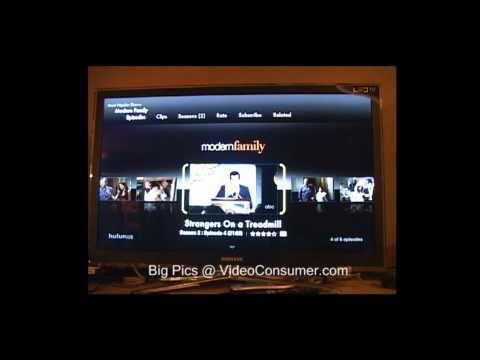 Samsung UN40C6500 running Hulu Plus
