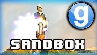 Garry's Mod Sandbox Funny Moments Blunderbuss Olympics Special! Distance, Accuracy, and Deathmatch
