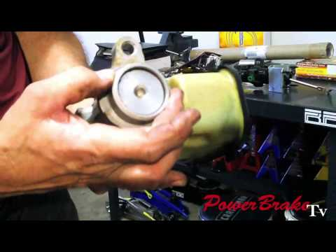 Vacuum Brake Booster conversion to Hydro-Boost on Performance Vehicle on Power Brake TV