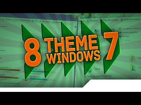 [TUTORIAL] How to Install Third Party Themes/Skins on Windows 7/8/8.1 - Windows Aero in Windows 8