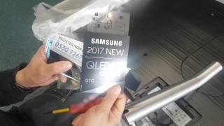 2017 Samsung 55 Q7C QLED Quick Unboxing + Setup