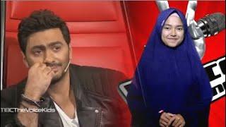 Santri Cantik Ikut Audisi The Voice ArabS Bikin Semua Juri Menangis