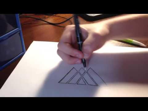 Lets Draw: DESTINY Warlock logo!