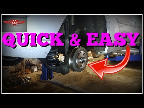 Ford Focus ZX5 Rear Bearing and Hub Replacament