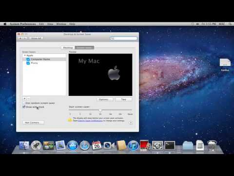 How to Change Screen Saver on Mac