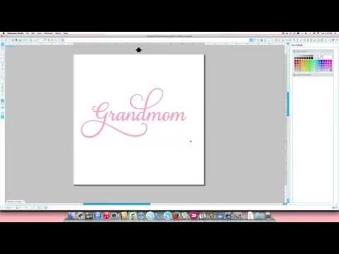 How To Access Special Characters In The Samantha Font In Your Silhouette Studio Software (On A Mac)