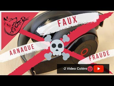 Casque Beats bye Dre arnaque faux casques...