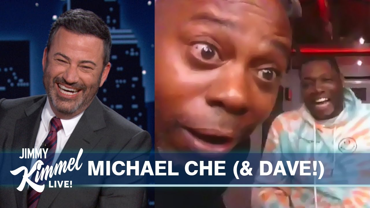 Michael Che's Interview Hilariously Hijacked by Dave Chappelle