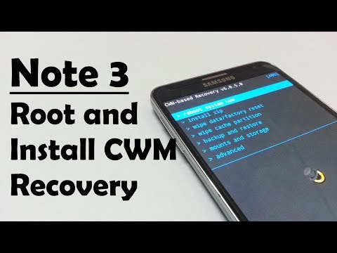 how to install cwm custom recovery on samsung galaxy note 3