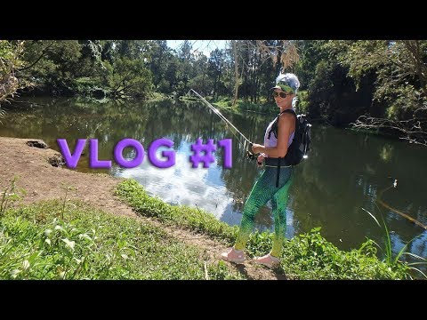 My first VLOG - casting for Australian Bass