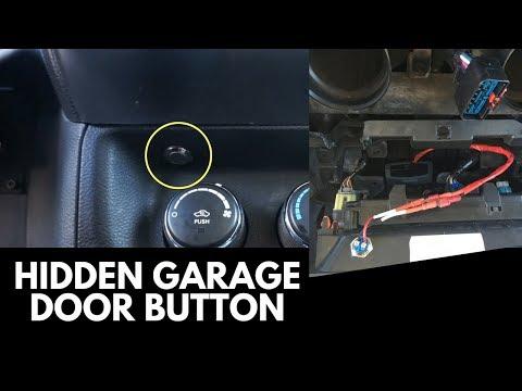 $2 Hidden Garage Door Button Mod! [DIY and Super Easy!]