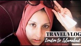 London to Islamabad I Qatar Airways, Doha - VLOG