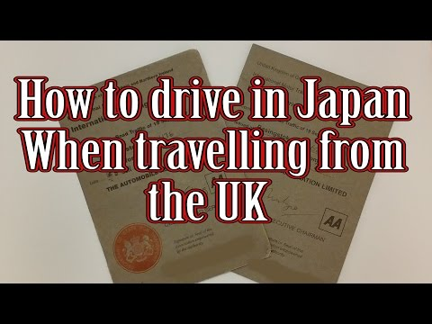 how to drive in Japan when travelling from the UK