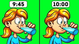 9 Situations When You Really Shouldn't Drink Water