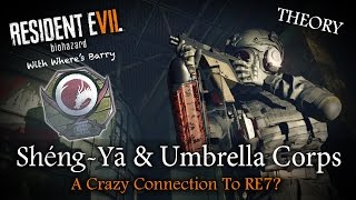 RESIDENT EVIL 7 | Sheng Ya Pharmaceuticals & Umbrella Corps | RE7 Corporation Enemy Theory