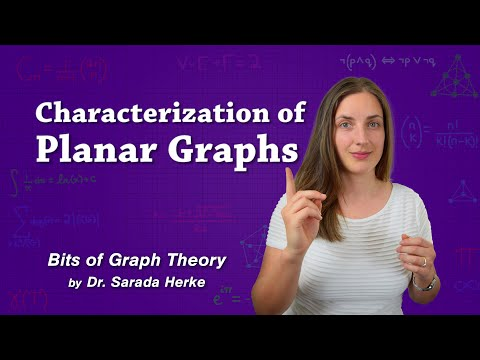 Graph Theory: 61. Characterization of Planar Graphs