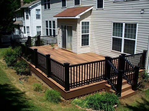 easy installation and maintenance porch railings