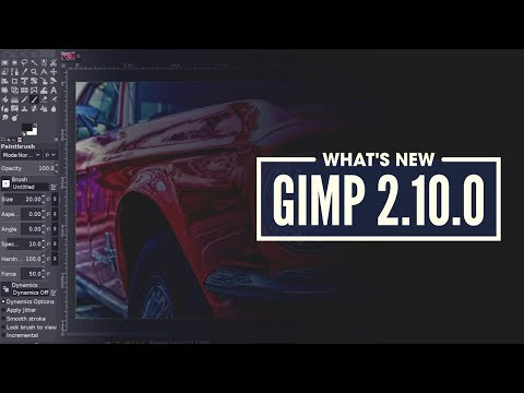 What's New in GIMP 2.10.0
