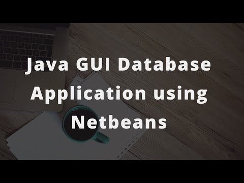 Java GUI Database Application using netbeans