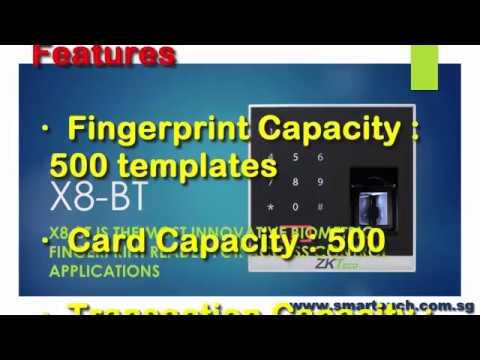 Biometric Fingerprint Machine Johor Malaysia : X8-BT Features