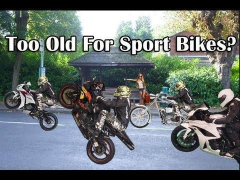 Too Old To Ride a Sport Bike Motorcycle? Appropriate Age?