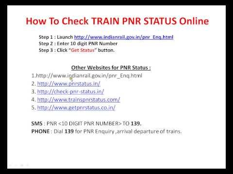 DIAL SMS 139 TRAIN PNR STATUS CHECK
