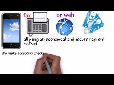 Accept Check By Fax - the best way to get cost effective price for check