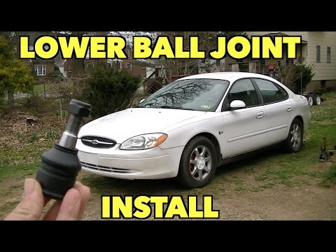 Lower Ball Joint Replacement.  Ford Taurus.