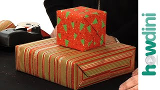 How to gift wrap boxes