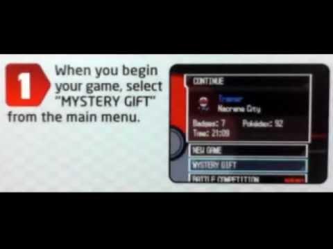 Pokemon Black and White: Zoroark Toys R Us Wifi Event
