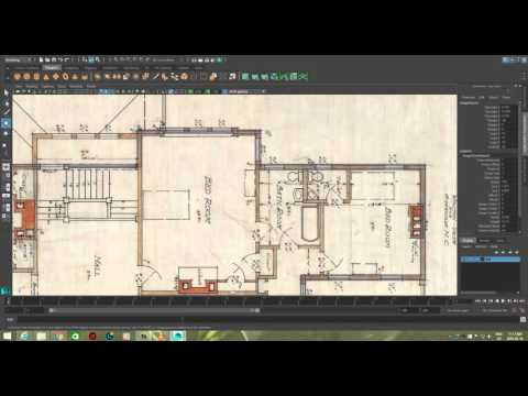 Modelling a House in Maya 2016 Series 1 - Modeling The Second Floor [P5]