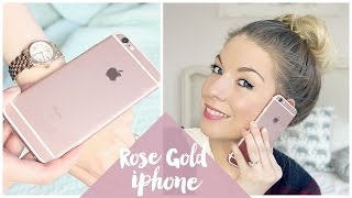 Rose Gold Iphone 6s Unboxing | Dollybowbow