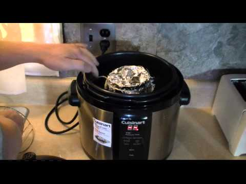 Make Bread in a Pressure Cooker