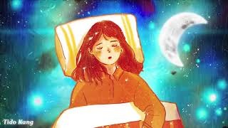"3 Hours Relaxing Sleep Music🎵 Deep Sleeping Music, Rain Sound, Meditation Music ""Warm"""