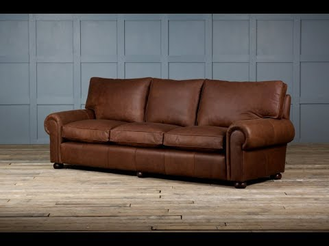 Rustic Leather Sofa A Flair of Style for Your Homes