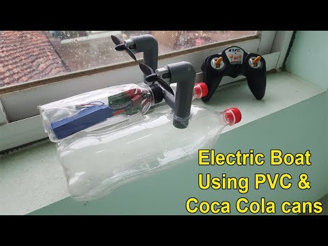 How to Make a RC Boat || DIY Electric boats