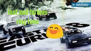 Fast and furious 8 ringtone
