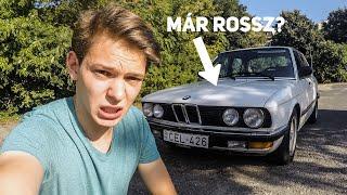 BMW E28 520i - mik a cápa hibái? | Cápa napló #1