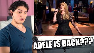 Vocal Coach Reacts to Adele Singing LIVE on SNL *2020*
