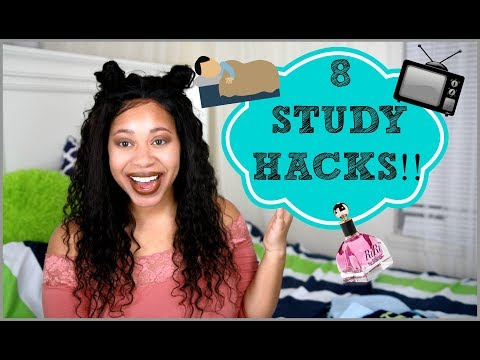 8 Study Hacks You Need To Know!