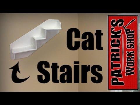 HOW TO MAKE A DIY WALL MOUNTED CAT SHELF