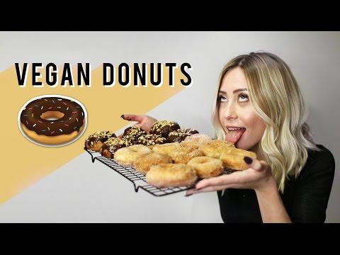 Vegan Donuts (Deep Fried & Amazing) l Taylor Parks