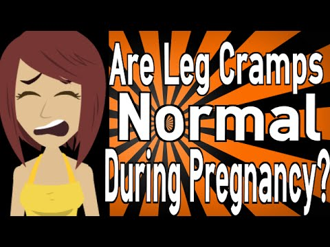Are Leg Cramps Normal During Pregnancy?