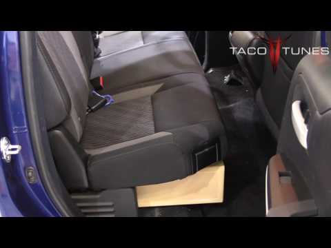 Toyota Tundra 2007- 2017 Double Cab Subwoofer Installation