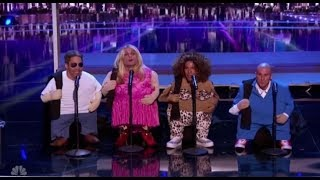 The Quiddlers Surprise by Playing TINY LITTLE AGT Judges | America