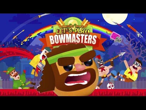 Annoying Orange Plays - Bowmasters!
